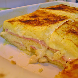 Baked Ham and Cheese.