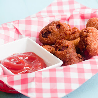 Cheesy Corn Dog Nuggets.