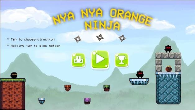 Annoying Ninja: Orange Game