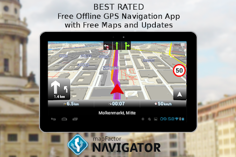 Mapfactor Gps Navigation Maps Screenshot Thumbnail