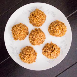 Maple-Pumpkin Coconut Macaroons