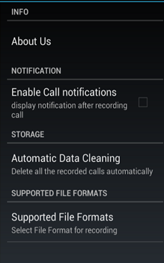 Call Recorder Automatic - pro screenshot 2
