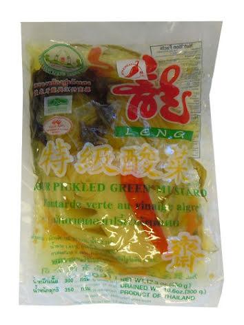 Sour Mustard Chili 350 g Leng Heng