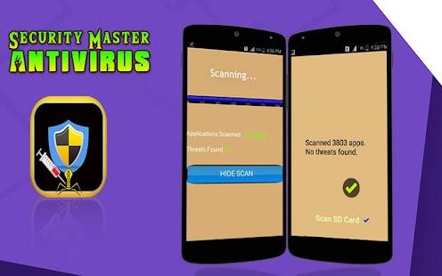 Security Master & Antivirus 2017 - náhled