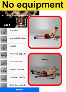 Home Workouts Gym Pro (No ad) Screenshot