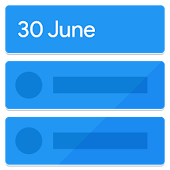 Calendar Widget: Agenda - Beautiful & Customizable