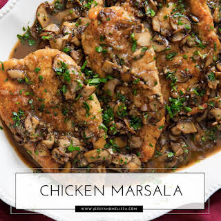 Chicken Marsala - Paleo.