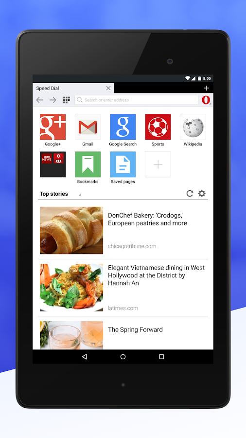 Opera mini chega à versão 8 e com diversas novidades 1