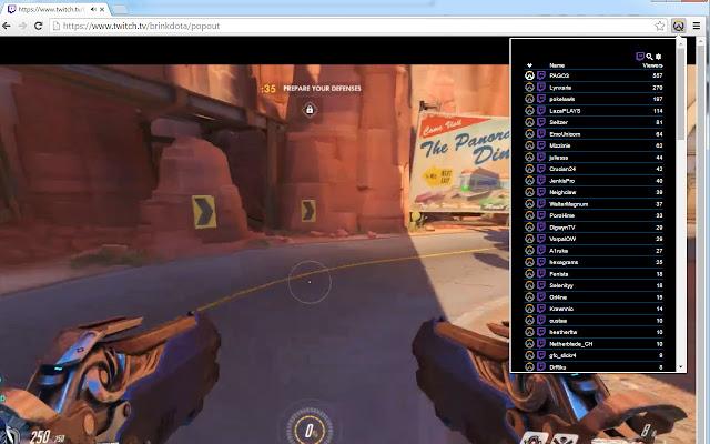 Overwatch Stream Browser