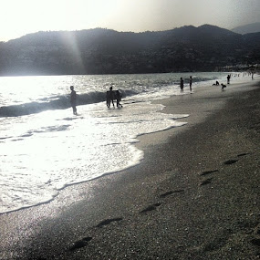 Evening beach #laherradura by Abi Gilson - Instagram & Mobile Instagram