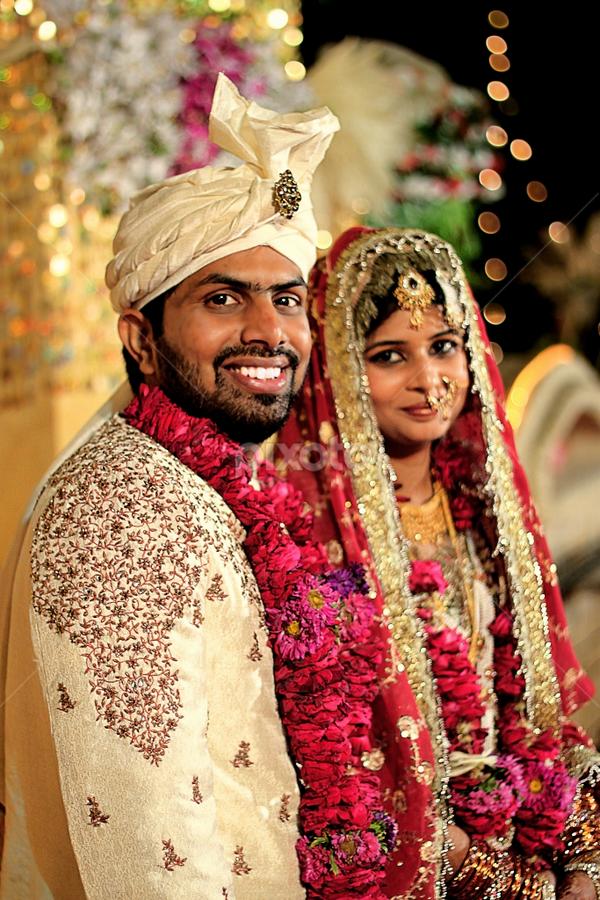 nikaah by Bharat Dudeja - Wedding Bride & Groom ( nikaah, wedding, bride and groom, marriage, indian wedding )