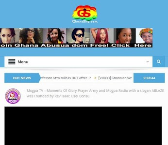 GhanaSky GTV, Adom TV screenshot 4