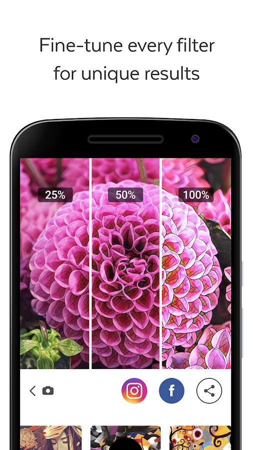 Prisma, App para editar fotografías