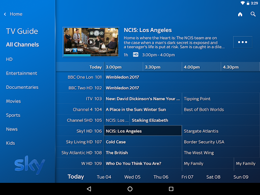 sky q app download
