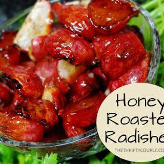 Honey Roasted Radishes