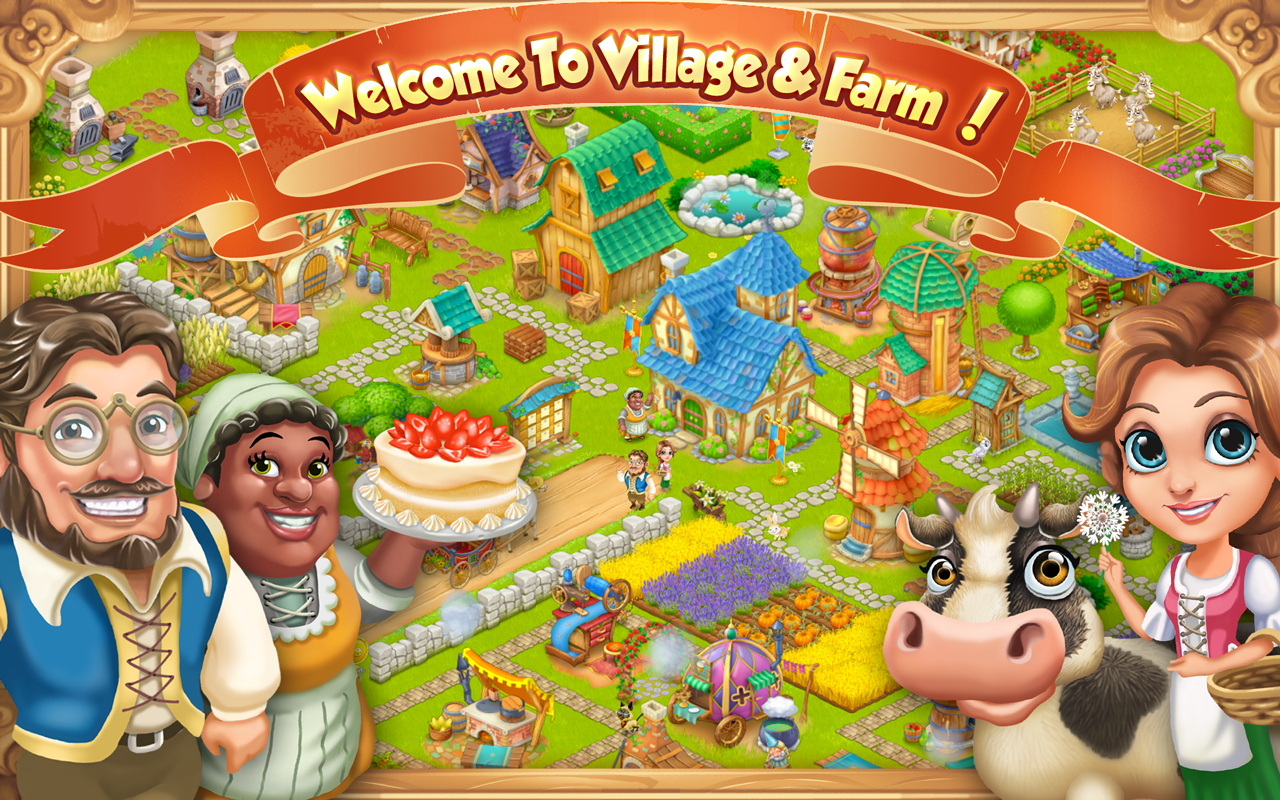Village and Farm- screenshot