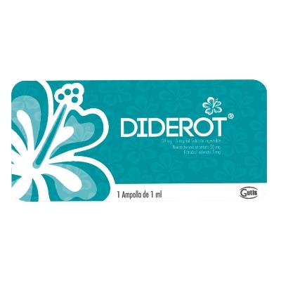Estradiol + Noretisterona Diderot 5-50mg/mL x 1 Ampolla DKT Internacional 5-50mg/mL x 1 Ampolla