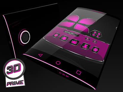 Soft Touch Pink theme for Next Launcher (Prime)- screenshot thumbnail