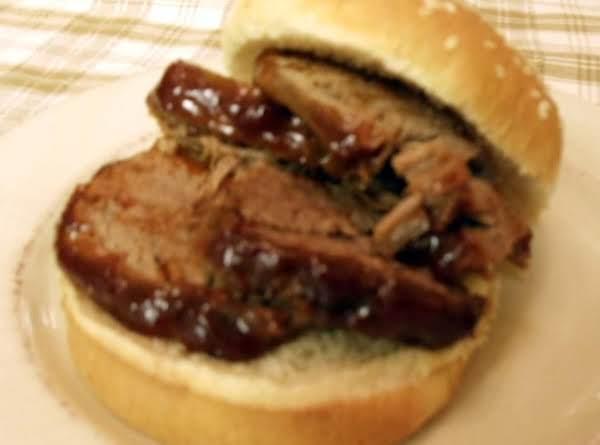 Oklahoma Style Brisket Sandwiches