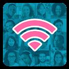 Instabridge - Senha de Wifi Grátis e Hotspots icon