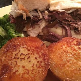 Crock-Pot French Dip Sandwiches.