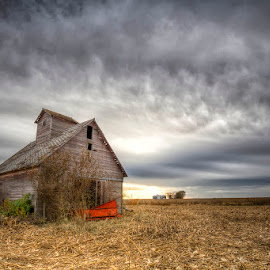 Yet Another Harvest by Ken Smith - Buildings & Architecture Decaying & Abandoned ( barn, landscape )