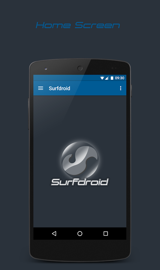 Surfdroid- screenshot