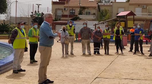 Huércal de Almería vuelve a poner en marcha el Plan Municipal de Empleo