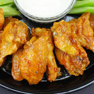 Oven Baked Chicken Wings.