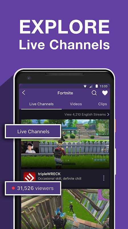 Twitch: Livestream Multiplayer Games & Esports screenshots