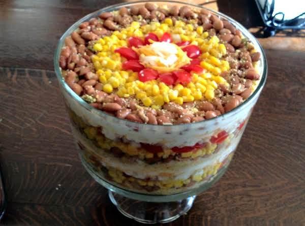 Jalapeno Cornbread Stackup Salad