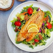 Grilled Sea Bass Salad