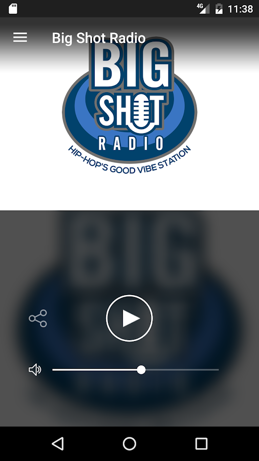 Big Shot Radio- screenshot