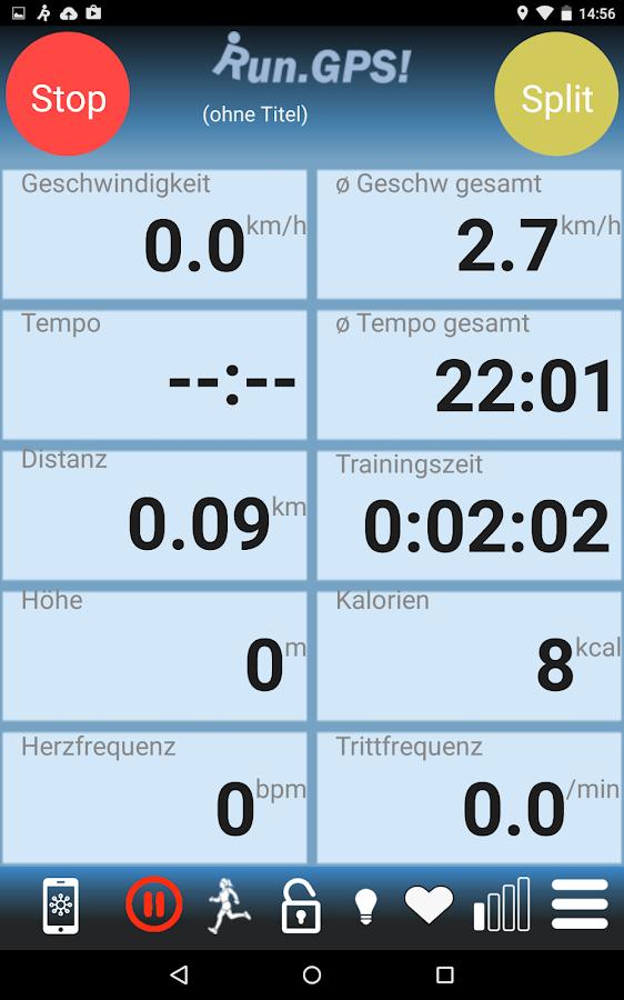 RunGPS Trainer Full- screenshot