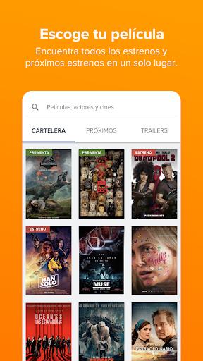 Fandango Latinoamu00e9rica u2013 Movie Times + Tickets 5.6.7 screenshots 5