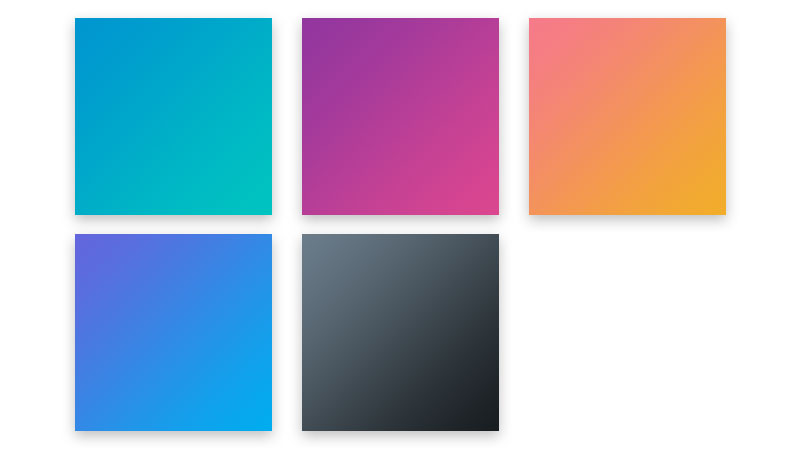 Or, if you want to wear the Setmore colors yourself, download our gradient pack so that you can apply them to your own images (just remember: 50% transparency).