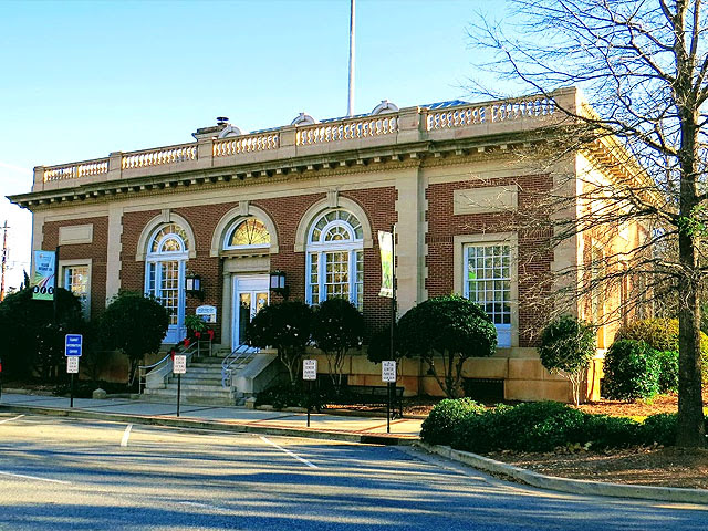 Old Milledgeville post office