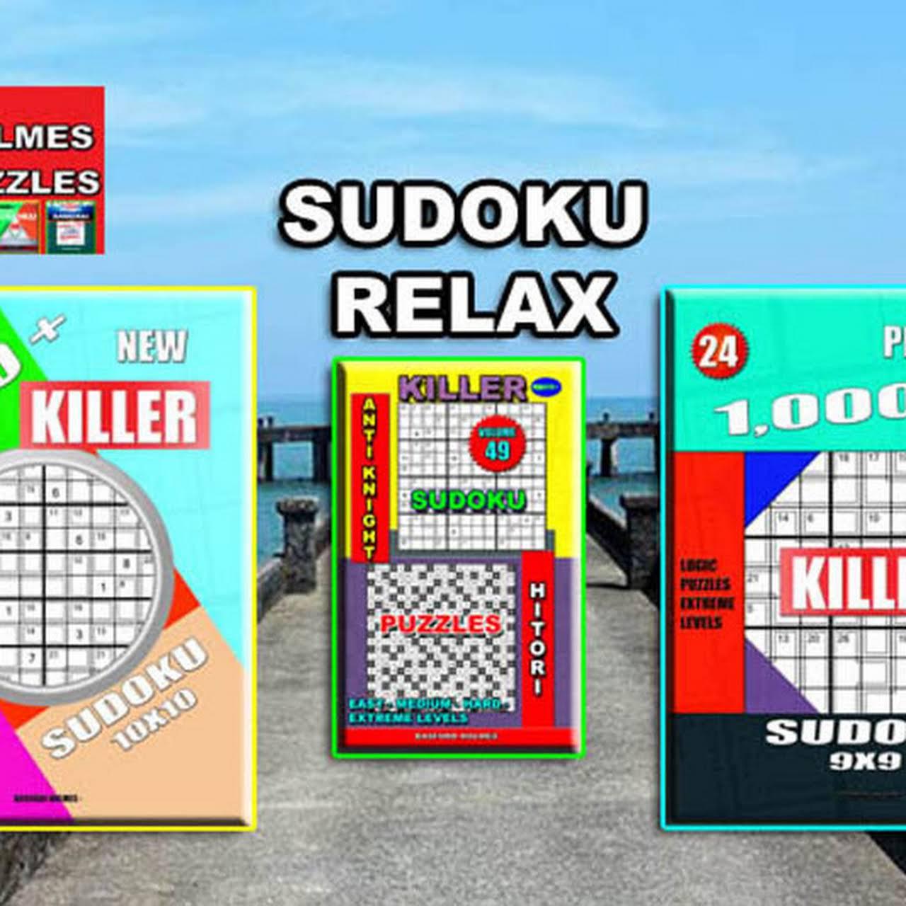 Sudoku - Puzzles books