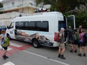 Photo: Met een busje vanuit Hvar naar Stari Grad