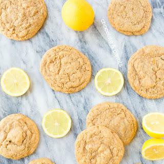 Whole Wheat Lemon Sugar Cookies