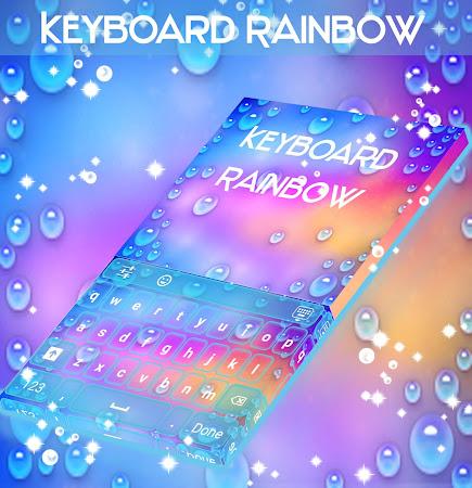 Rainbow Keyboard with emojis 1.181.1.8 screenshot 2092267
