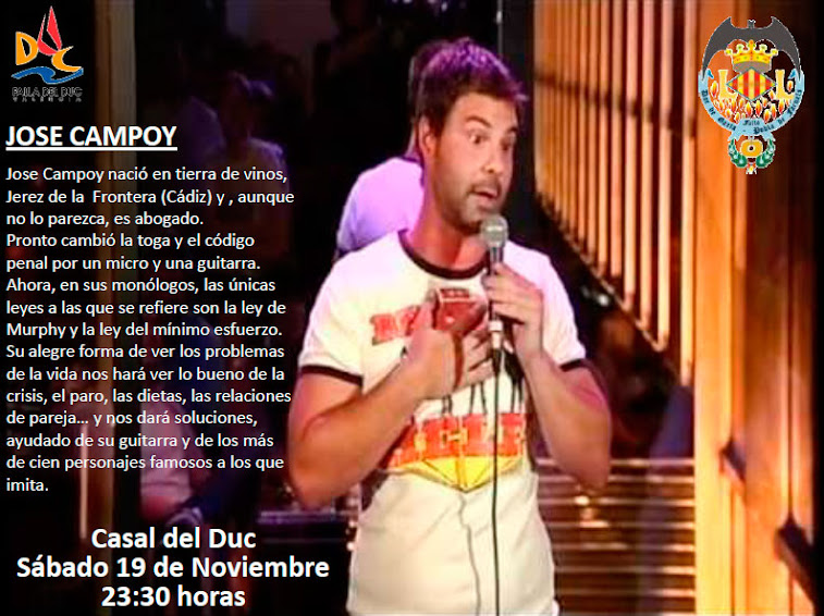 Mañana no te pierdas el monólogo de Jose Campoy