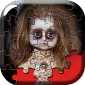 Scary & Cute Doll Puzzle Games
