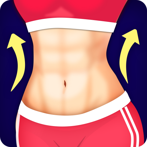 Abs Workout - Burn Belly Fat with No Equipment Icon