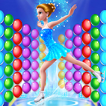 Ice Ballerina Bubble Icon