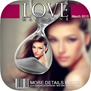Photo Magazine Cover Icon