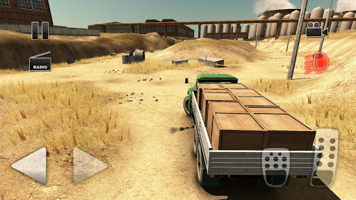 Truck Driver Crazy Road 2  captures d'écran 2