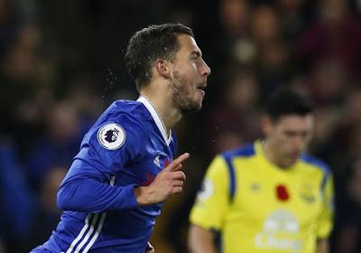 Hazard danse sur Everton, Chelsea provisoirement en tête de la Premier League