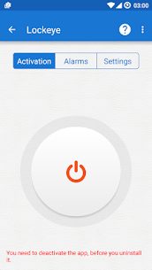 Download Lockeye : Wrong password alarm & Intruder selfie App For Android 1