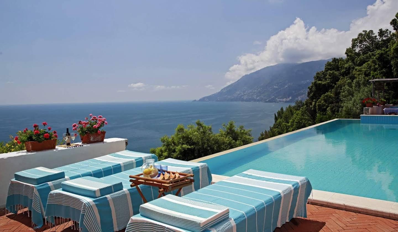Villa avec jardin et terrasse Maiori